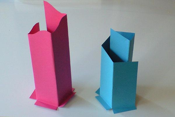 紙工作-未来都市