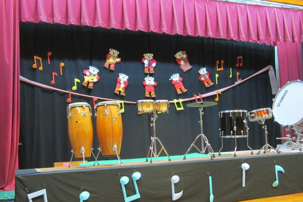 音楽会ステージ装飾