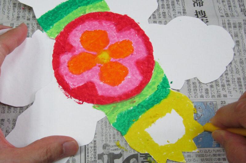 低学年絵画題材不思議な花