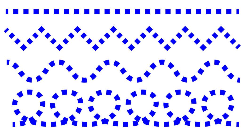 線を描く線で描く