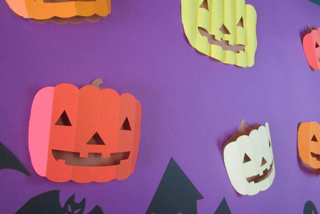 10月の壁面掲示ハロウィン