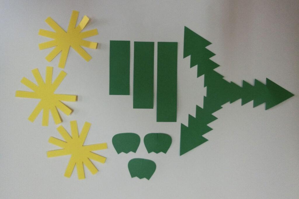 3月の壁面掲示タンポポ