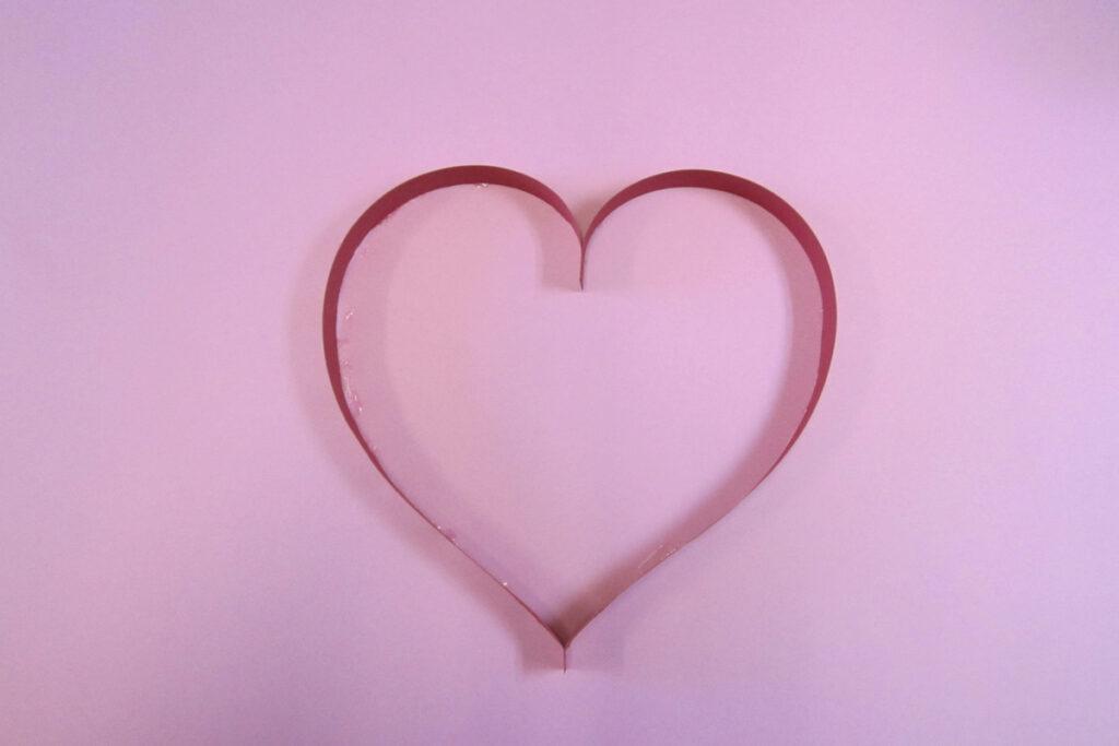 2月の壁面掲示バレンタインデー